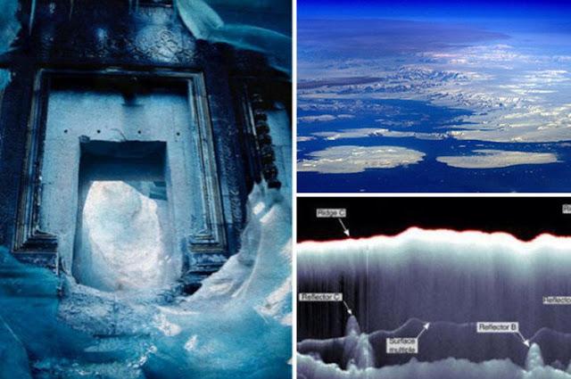 Lộ thành phố cổ huyền thoại dưới 800m băng Nam Cực?