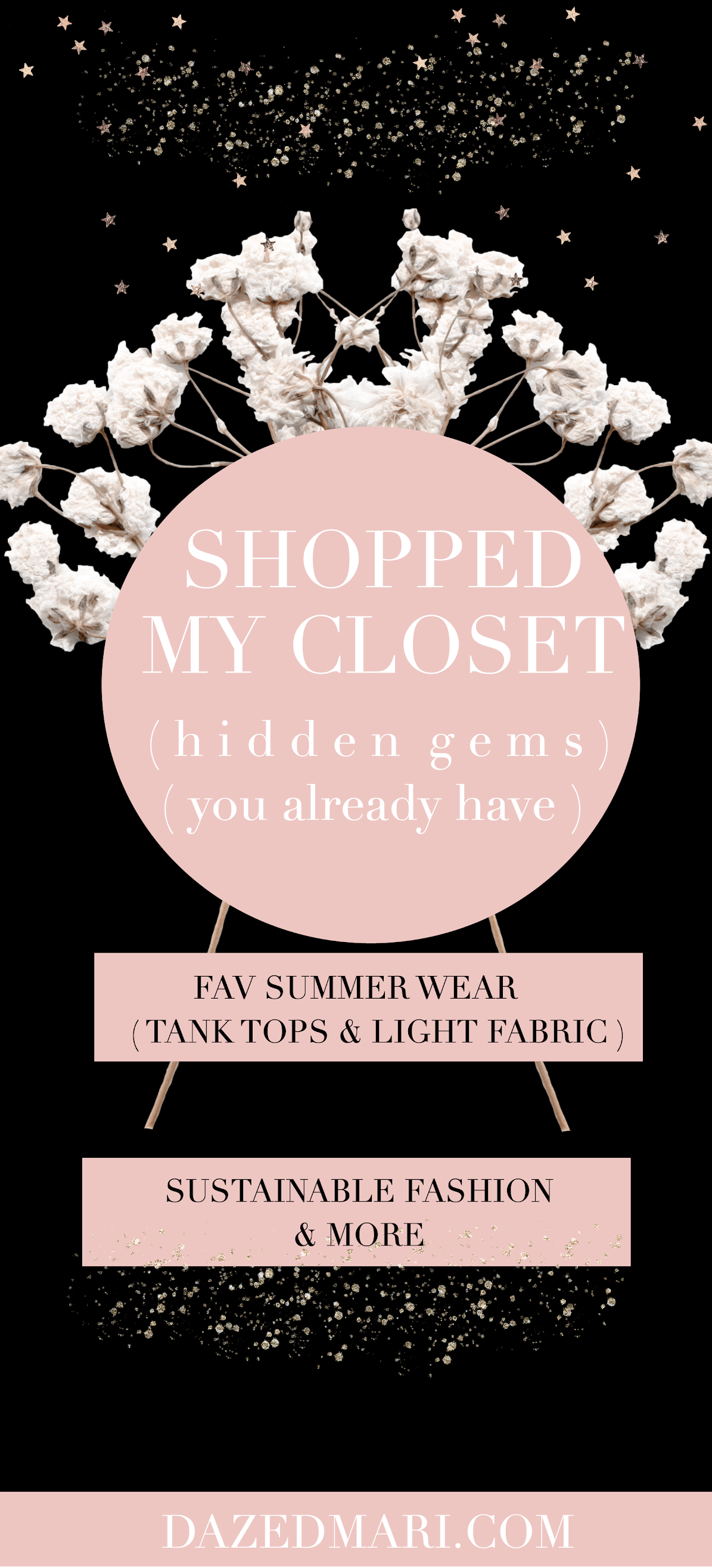 Shopped My Closet, Favorite Summer Tank Top & Light Fabric,  Hidden Gems You Already Have, Sustainable Fashion