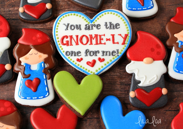 Sugarbelle candle cutter gnome cookies tutorial