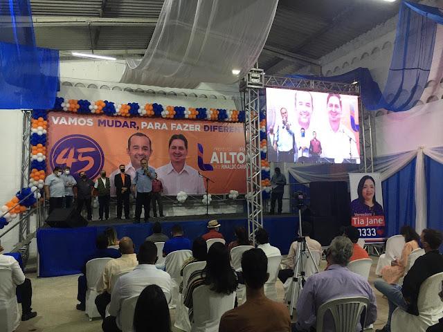 AO VIVO - PSDB realiza convenção que homologará a chapa Lailton e Cara Veia para a prefeitura de Escada