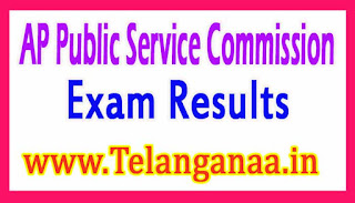 APPSC AE Screening Test Results 2017 psc.ap.gov.in