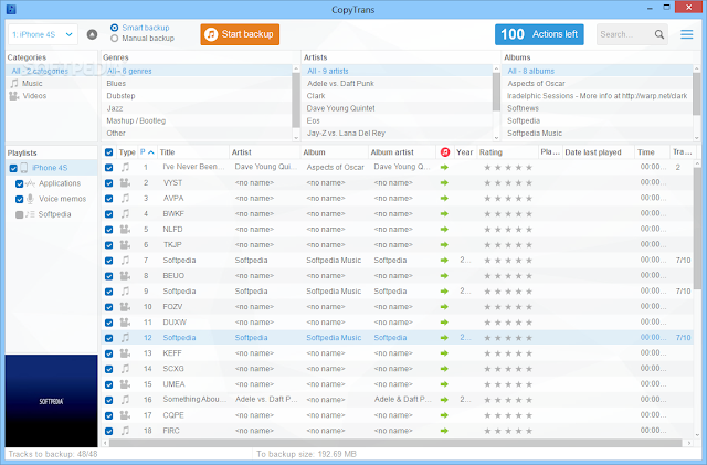 تحميل برنامج النسخ الاحتياطي للايفون والايباد اخر اصدار CopyTrans 5.109