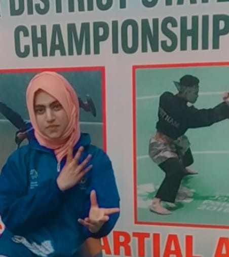 Bilqis Maqbool -A girl from Budgam and the winner