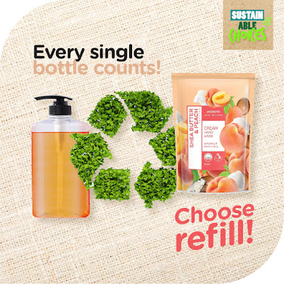 Watsons Sustainable Choices - Choose Refill