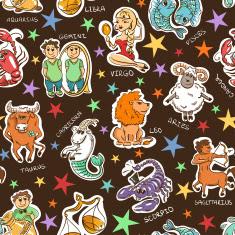Gambar Kartun Zodiak Lucu Funny Zodiacs Wallpaper HD Horoskop