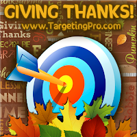 Targeting Pro Marketing - FREE Thanksgiving Marketing Tips Tricks Ideas Inspiration