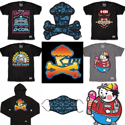 """Designer Con 2020 Exclusive Back to the Future """"Bake Your Own Future"""" Apparel Collection by Johnny Cupcakes"""