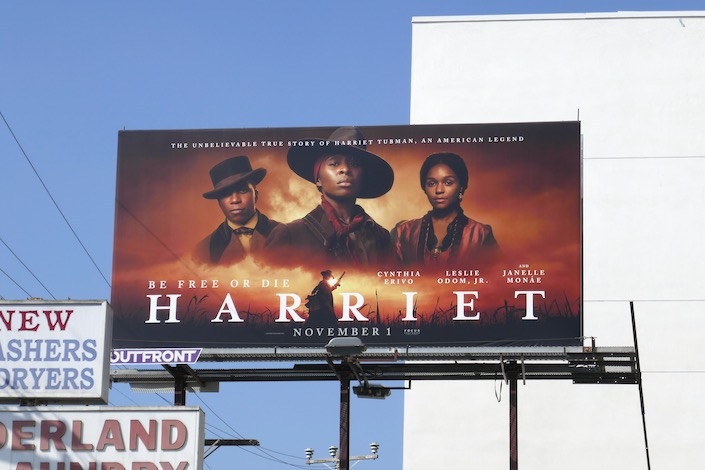 Harriet Tubman film billboard