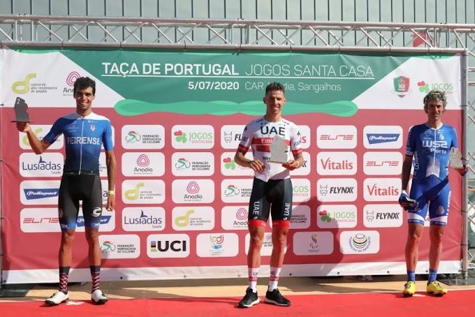Rui Costa consiguió el triunfo en la vuelta a la competición en Portugal