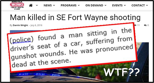 Fort Wayne Media Maven: Suffering News Stories