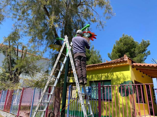 Εργασίες καθαριότητας στο Τολό από συνεργεία του Δήμου Ναυπλιέων