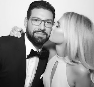 Nate Thompson And His Wife