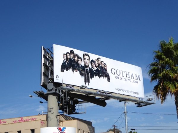 Gotham season 2 billboard