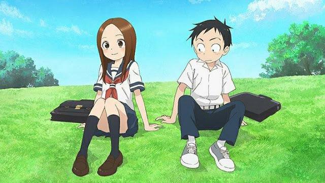 """Karakai Jouzu no Takagi-san"" Season 2 Announces Release Date, 2nd Key Visual and Promotional Trailer"