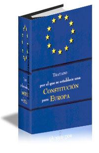 Resultado de imagen de imagen del tratado por el que se establece una constitucion para europa