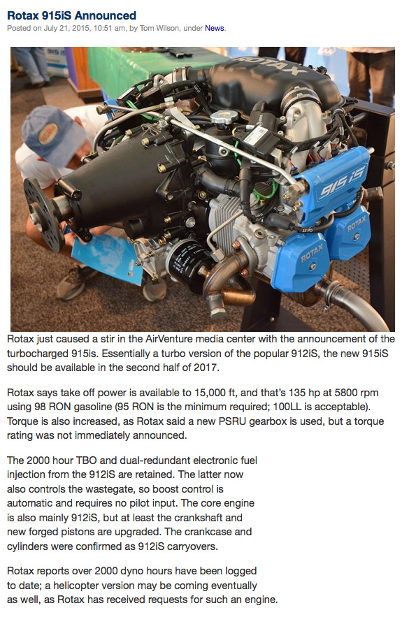 Twisted: New engine from Rotax