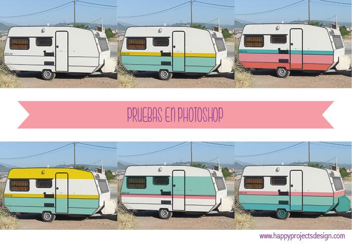 pruebas para la happy caravan