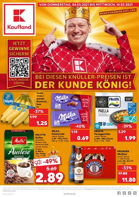 KAUFLAND  Prospekt - Angebote  ab 01.03 / ab 04.03 2021  →  Super-Wochenstart ab 01.03
