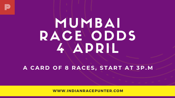 Mumbai Race Odds 4 April
