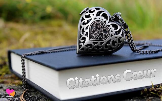 Livre des citations sur cœur