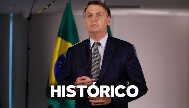 Bolsonaro faz o melhor discurso da história da República do Brasil e deixa a Globo em pânico