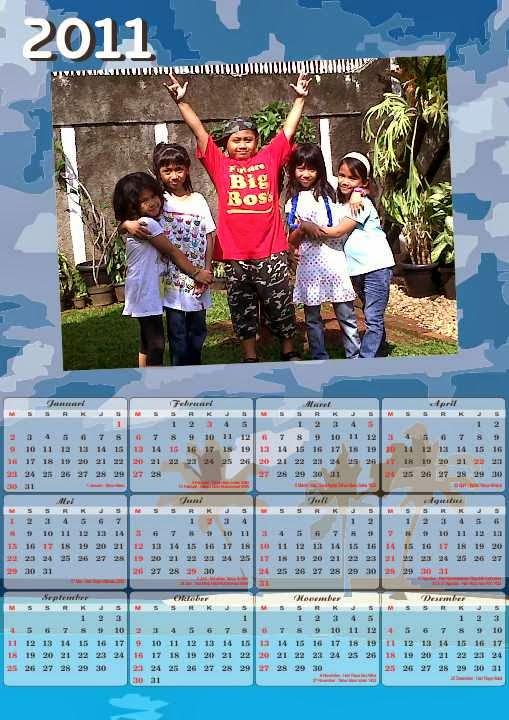 Jasa desain online desain kalender cetak kalender online