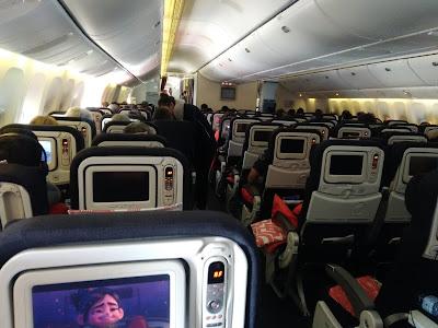 Como é voar de AirFrance