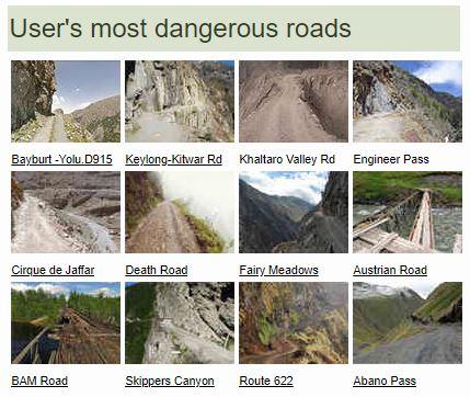 tehlikeli yollar