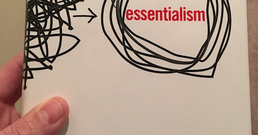 Lessons Learned from Essentialism