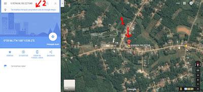 menambahkan lokasi di google maps