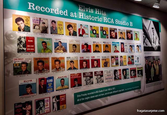 Nashville: Galeria lembra os grandes sucessos de Elvis Presley gravados no Estúdio B (Historic RCA Studio B)