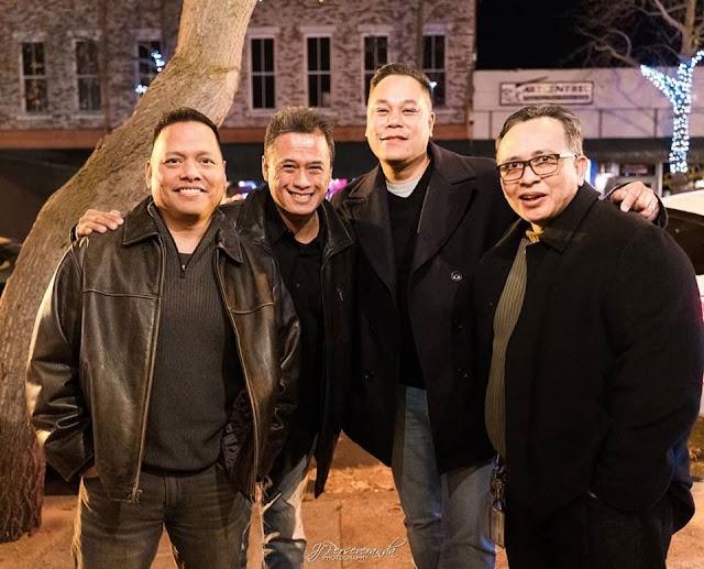 Hogan High School Reunion: Rudy, J.F., Tony & Arnel