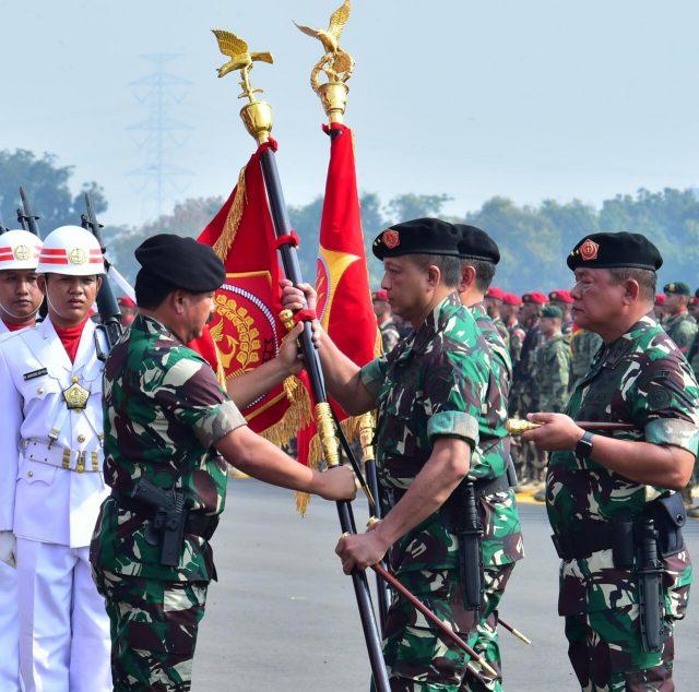 Panglima TNI Resmikan Dan Lantik Tiga Kogabwilhan