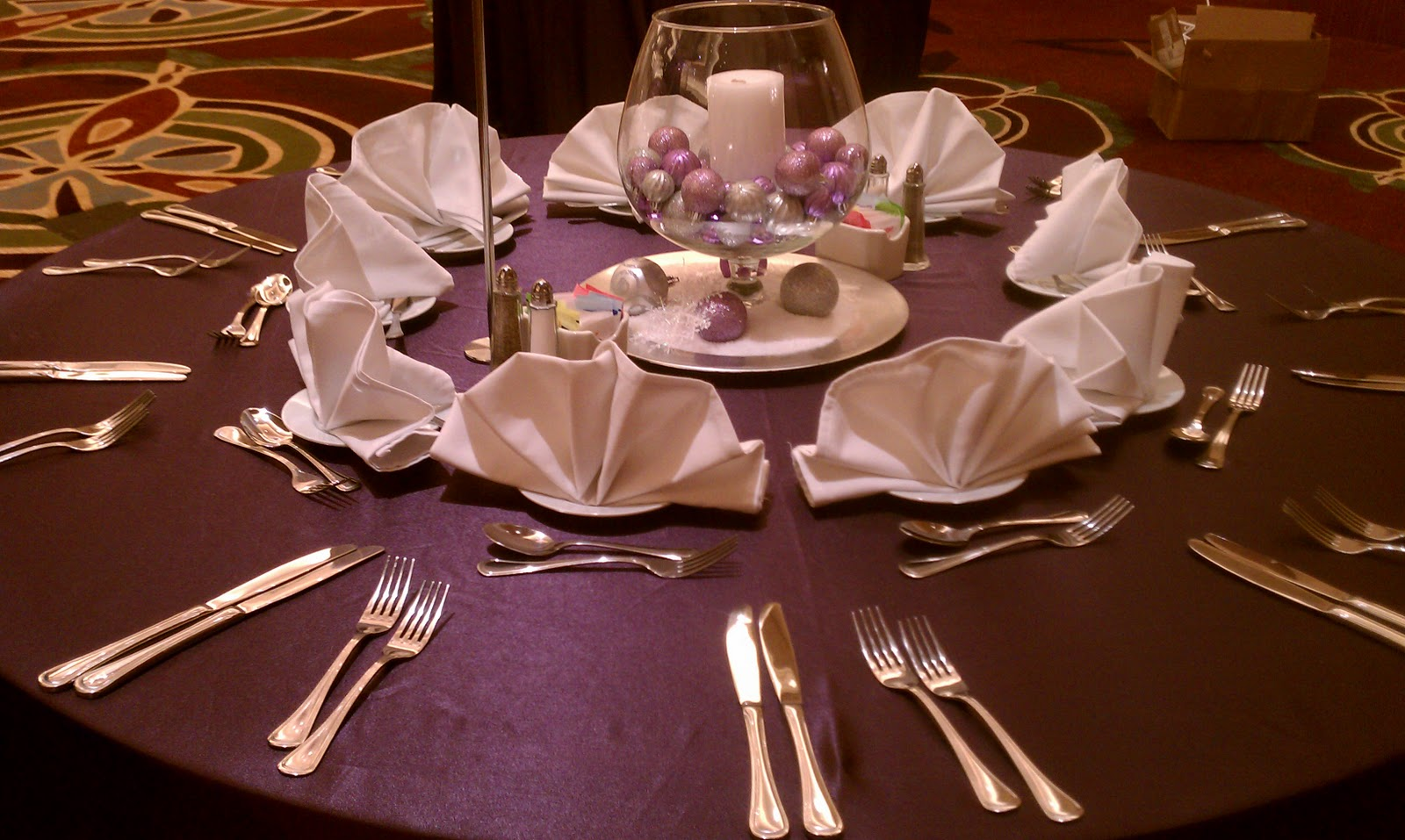 chair cover rentals utah where to buy wheel table linens eggplant home decoration club
