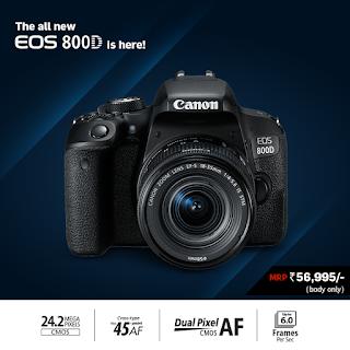 Nikon D3400, Canon EOS 800D, Canon vs Nikon, Nikon vs Canon, Canon EOS 800D vs Nikon 3400D, new DSLR camera, camera review