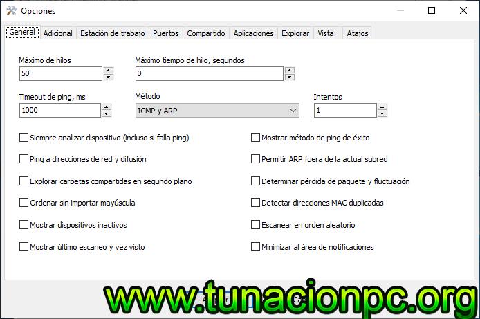 Descargar SoftPerfect Network Scanner gratis multilenguaje