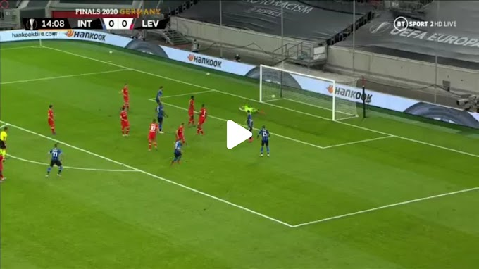 VIDEO : Inter Milan 2:1  Bayer Leverkusen / Europa League