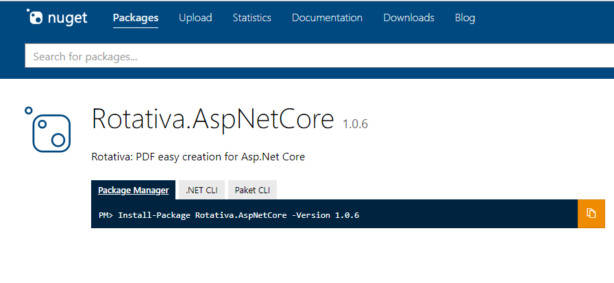 HTML to PDF using Asp Net MVC and Rotativa AspNetCore ~ Full