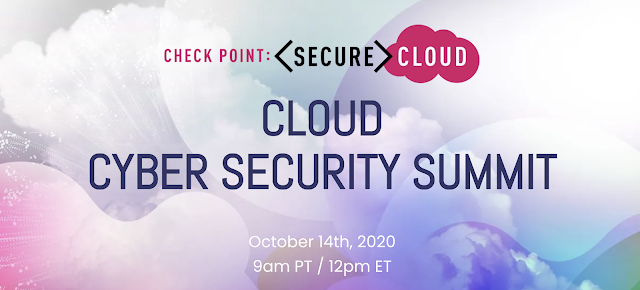 14/10 Cloud Cyber Security Summit by Check Point