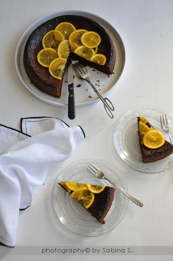 Due bionde in cucina torta al cioccolato con arancia - Casa profumatissima ...