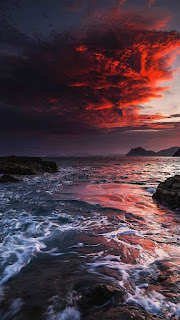 خلفيات سماء وبحر