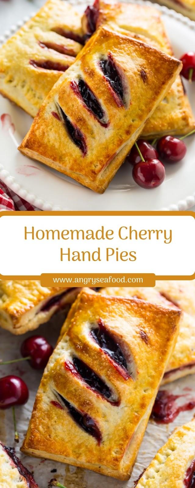 Homemade Cherry Hand Pies