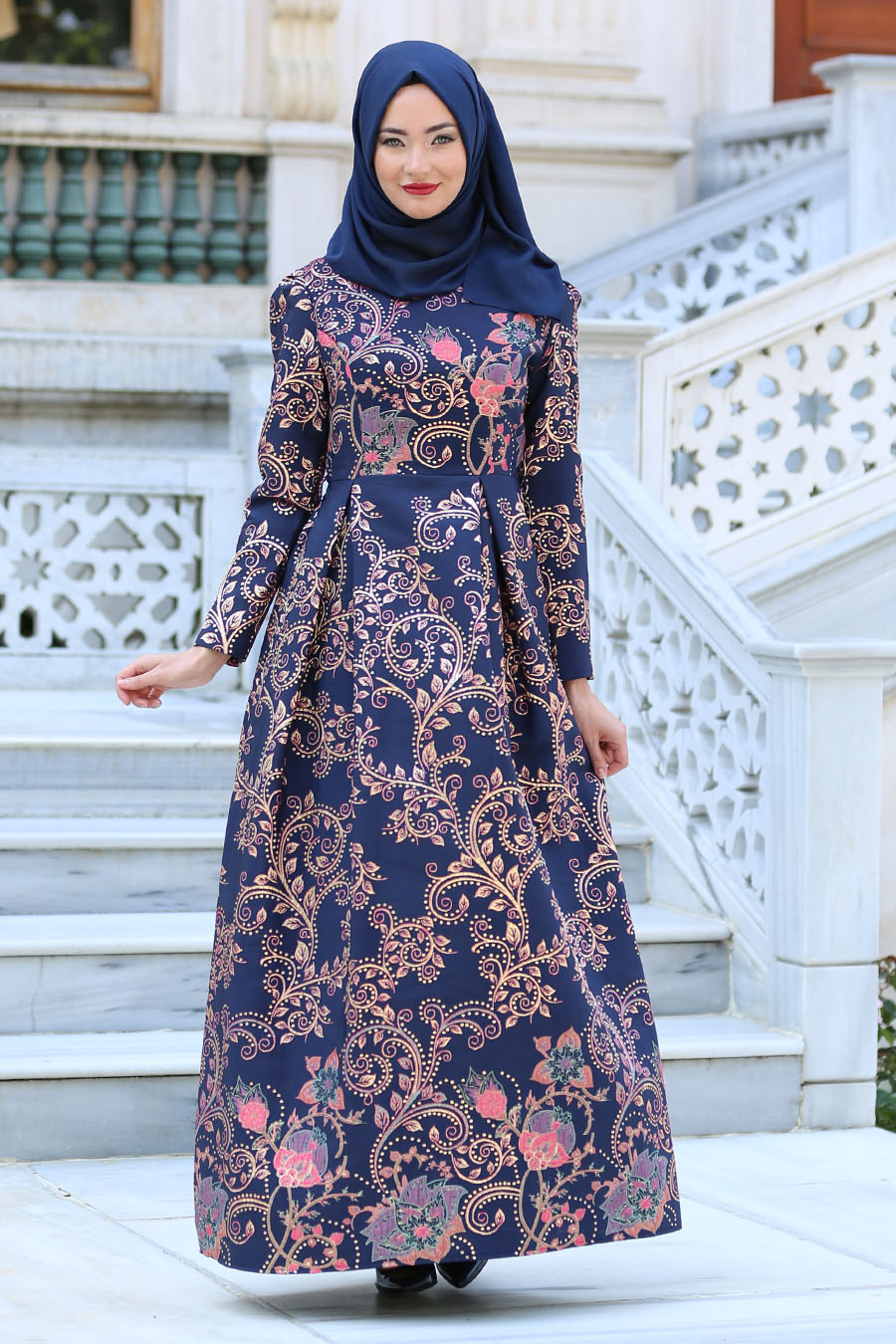 45 Model Baju Brokat Kombinasi Batik Modern 2019 - Model ...