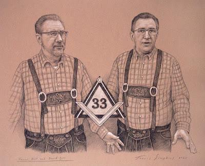 James Dill, 33° and David Dill, 33°. Supreme Council. Scottish Rite, NMJ. by Travis Simpkins
