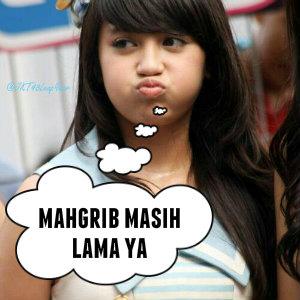 Gambar DP BBM Puasa Kata Ucapan MARHABAN YA RAMADHAN Nabilah JKT48 Lucu & Gokil Kocak Abis
