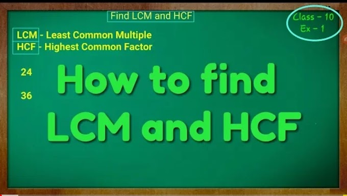 How to slove hcf and lcm ,properties ,questions,formulas , tips and tricks of hcf and lcm ,short tricks with example