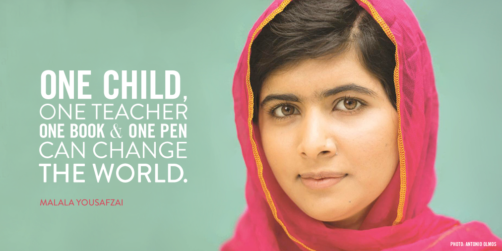 aktivis muda paling berpengaruh di dunia