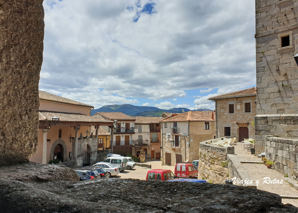 Plaza llano de la Iglesia, Miranda del Castañar
