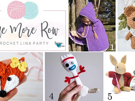 One More Row - Free Crochet Link Party #15