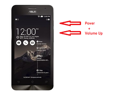 Cara Flash Asus Zenfone C z007